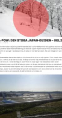 Den Stora Japanguiden- Del 2