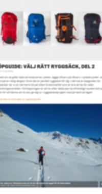Köpguide: Välj Rätt Ryggsäck - Del 2
